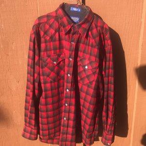 Pendleton Canyon Shirt Wool Flannel